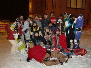 サンタプレゼントパークへスノーボードへ