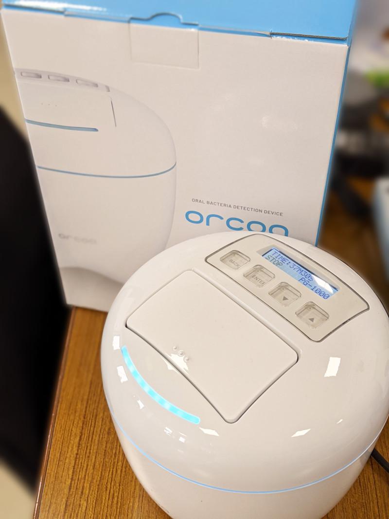 口腔細菌検出装置 orcoa